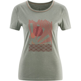 Red Chili Satori Camiseta Mujer, tea grey